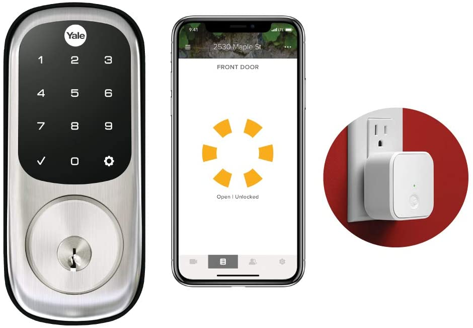 Yale Assure Lock Touchscreen Connected By August