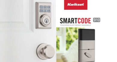 Kwikset 910 SmartCode Contemporary Electronic Deadbolt with Z-Wave