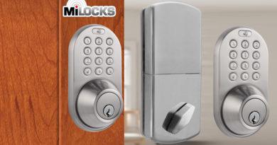 Milocks Keyless Entry Electronic Deadbolt DF-02