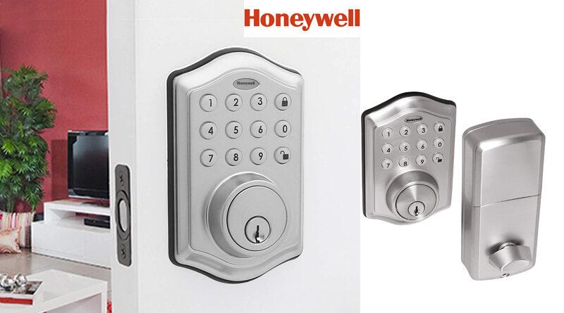 Honeywell Electronic Deadbolt with Keypad