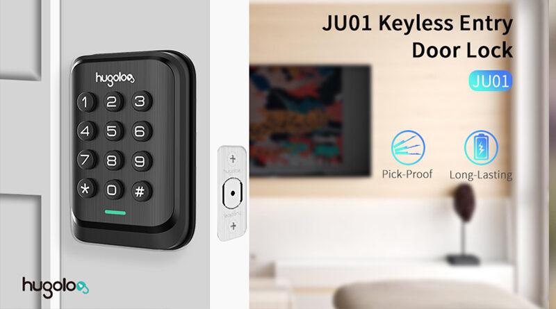 HUGOLOG Electronic Keypad Deadbolt Lock