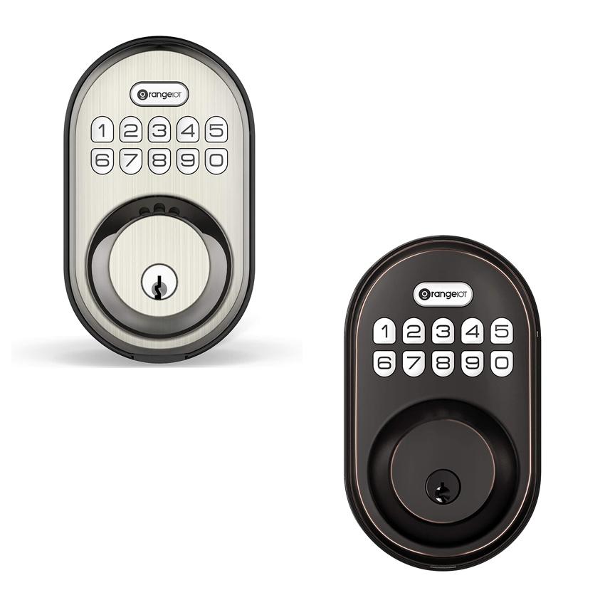 OrangeIOT Electronic Keypad Deadbolt Lock