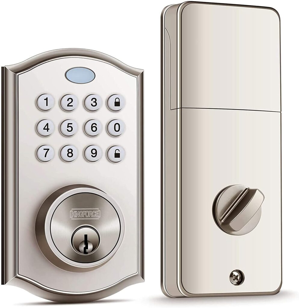 Kingforce Keypad Deadbolt Electronic Lock Review