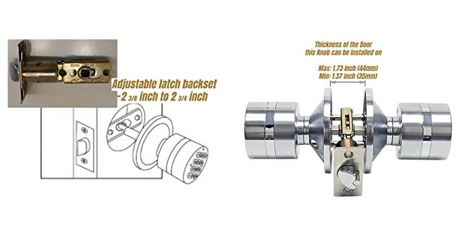 SoHoMiLL YL-99 Electronic Lock