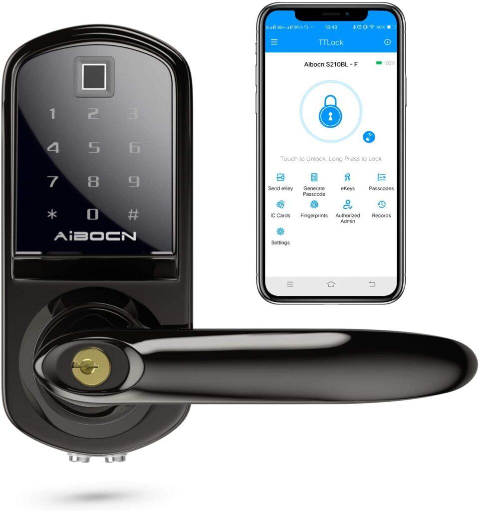 Aibocn Fingerprint Smart Lock with Keypad Review