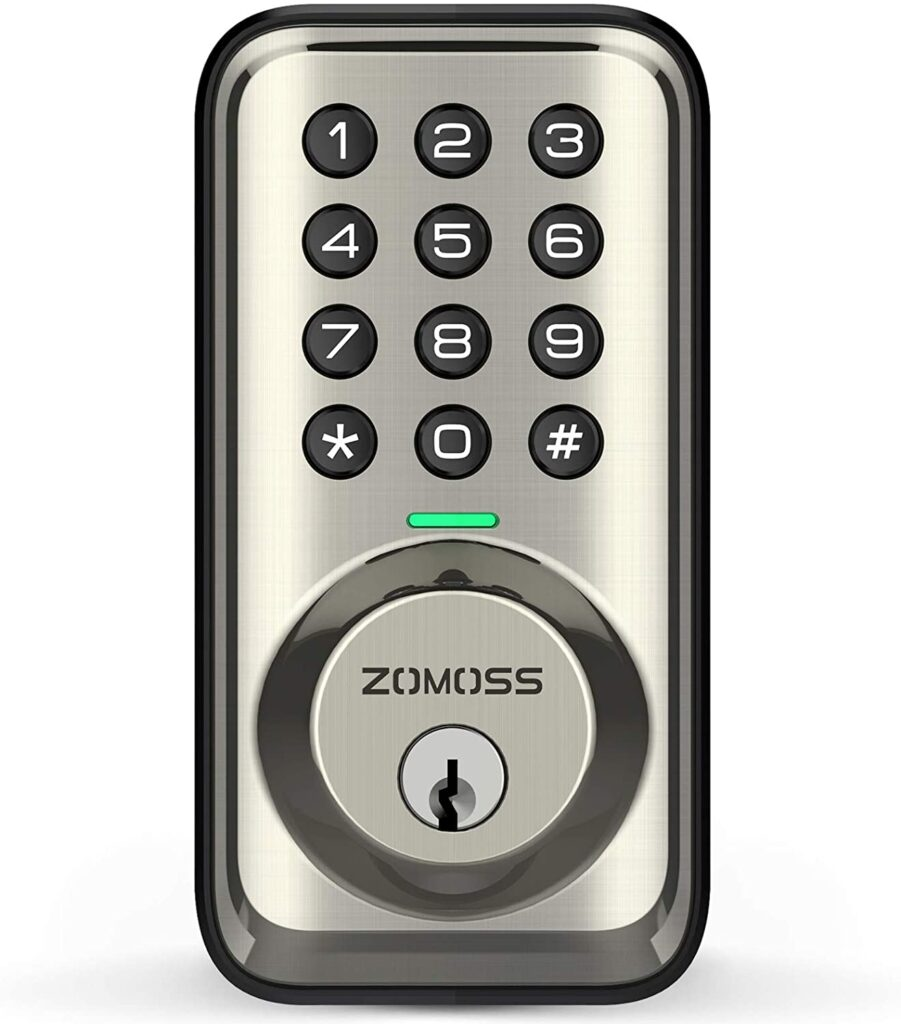 Zomoss Electronic Deadbolt Lock Review