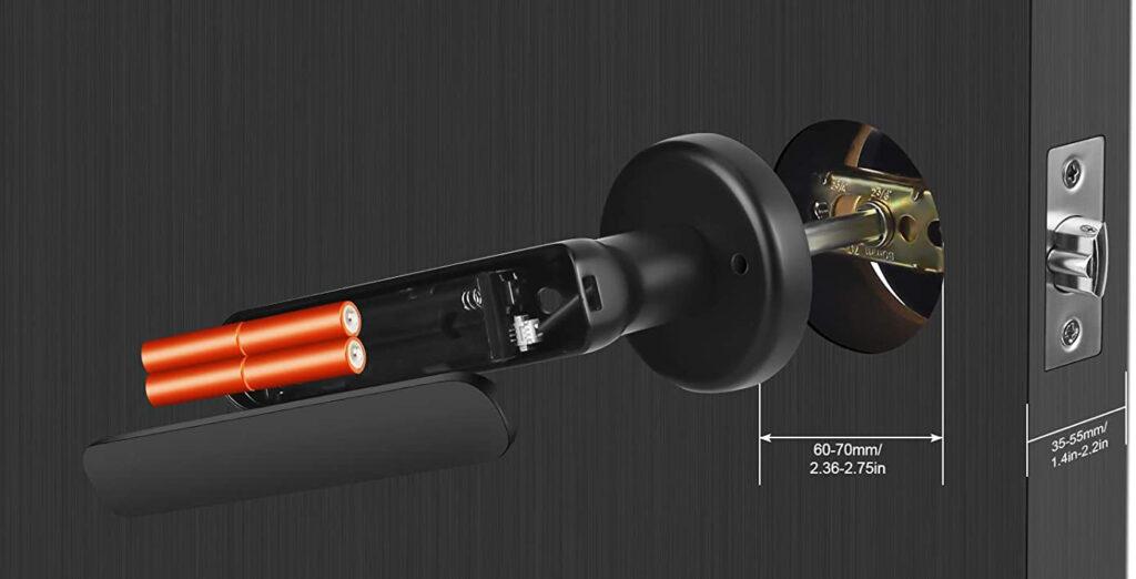 KPP Fingerprint Smart Lock
